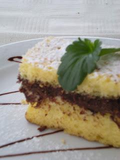 Biskvit s čokolado