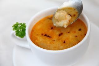 Cvetačna juha z gresom