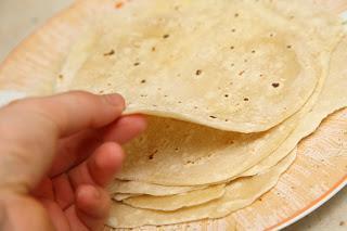 Domače pšenične tortilje