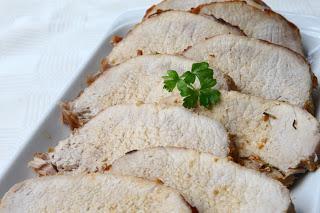 Pečena začinjena svinjska pečenka