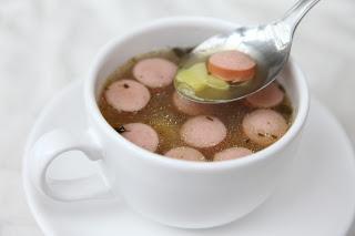 Krompirjeva juha s hrenovkami