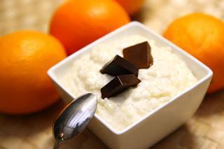 Mlečni riž s čokolado