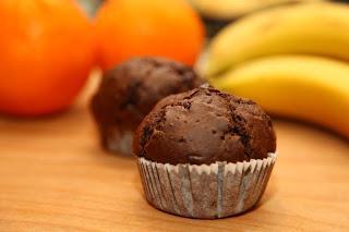 Mafini s temno čokolado