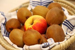 Domači kiviji in vplivi jabolk