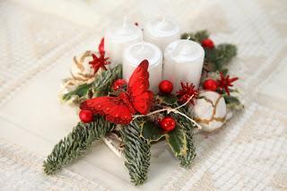 Prvi božični venček – aranžma
