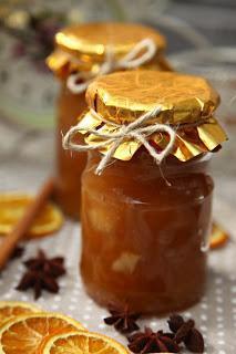 Praznična jabolčna marmelada