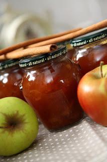 Praznična jabolčna – kutina marmelada