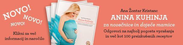 Priročni Anina kuhinja za nosečnice in doječe mamice