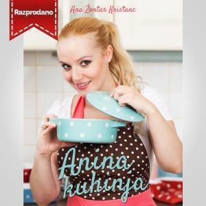 Knjiga Anina kuhinja s posvetilom*