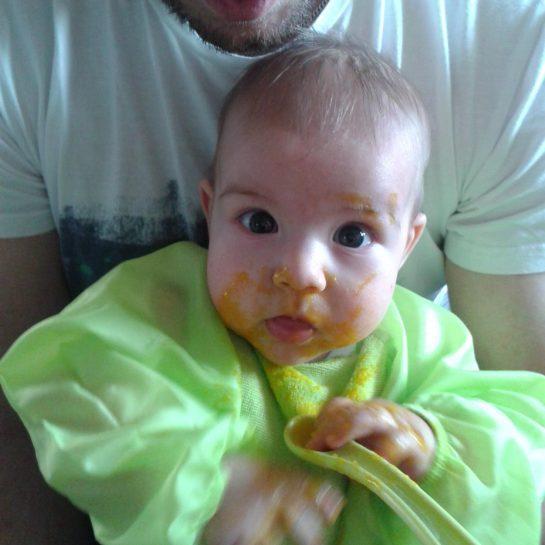 Uvajanje goste hrane pri dojenčkih 4.del