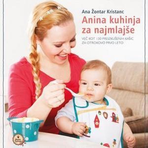 Knjiga Anina kuhinja za najmlajše – stara izdaja