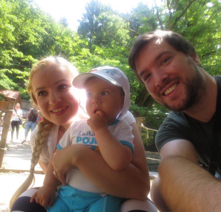 Druga obletnica poroke in prvi obisk živalskega vrta