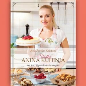 Knjiga Sladka Anina kuhinja s posvetilom*