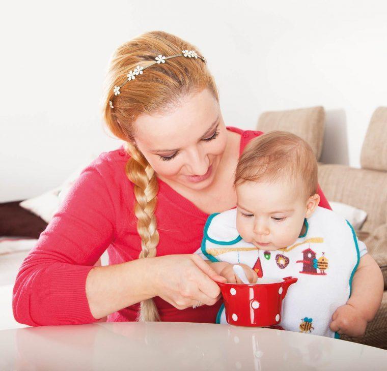 Predavanje o uvajanju goste prehrane pri dojenčkih