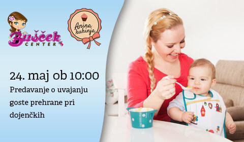 Predavanje o uvajanju goste hrane pri dojenčkih