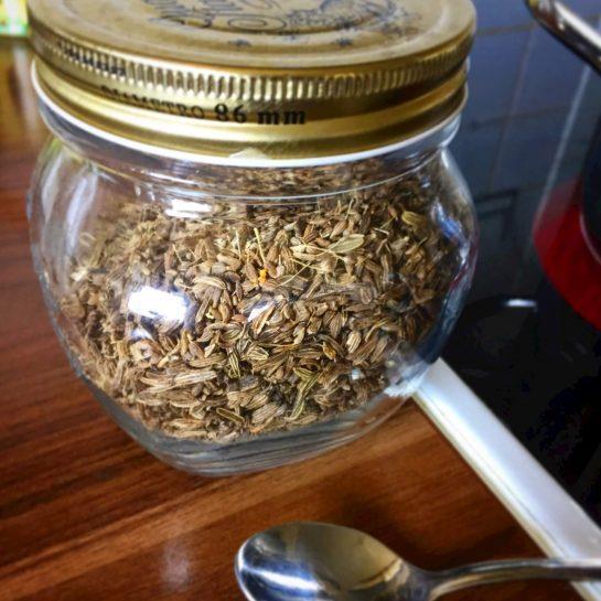 Čaj za pomiritev trebuščka / proti krčkom