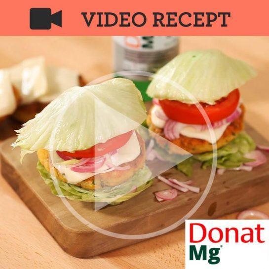 Zdravi čičerikini burgerji za napade po hitri hrani