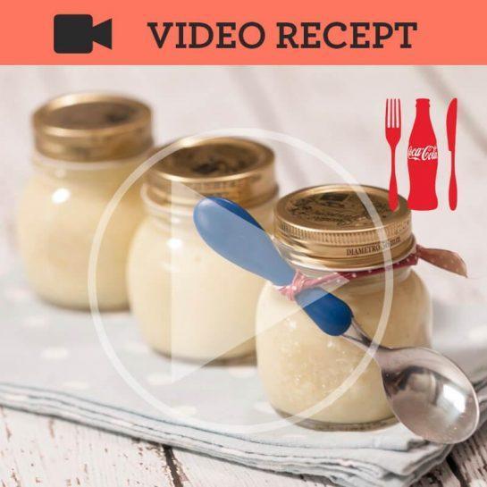 Rižev bananin puding z vanilijo