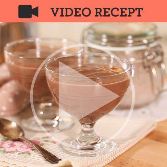 Domača mešanica za čokoladni puding