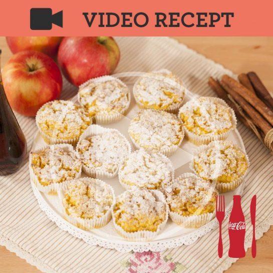 Jabolčni kruhovi mafini – beračeva torba