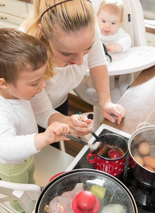 50 idej za zajtrke in večerje – za odrasle in malčke