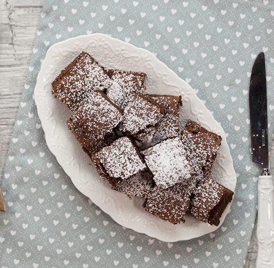 Čokoladni browniji iz dveh sestavin