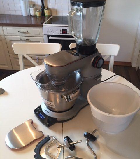 Testiram kuhinjski aparat Bosch OptiMUM