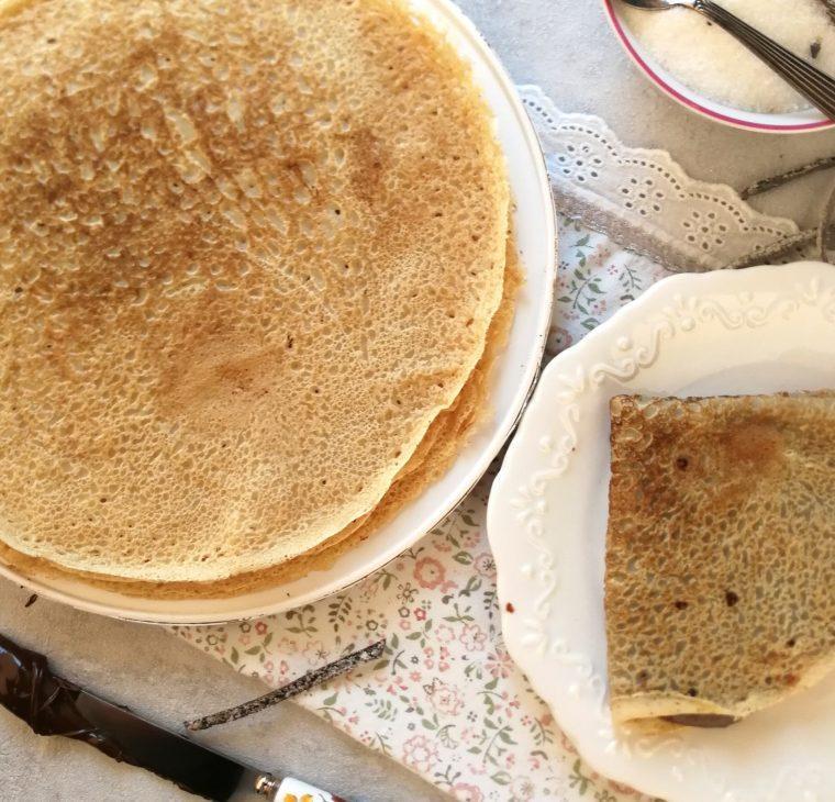 Najbolj preproste palačinke brez mleka in jajc / brezlaktozne palačinke
