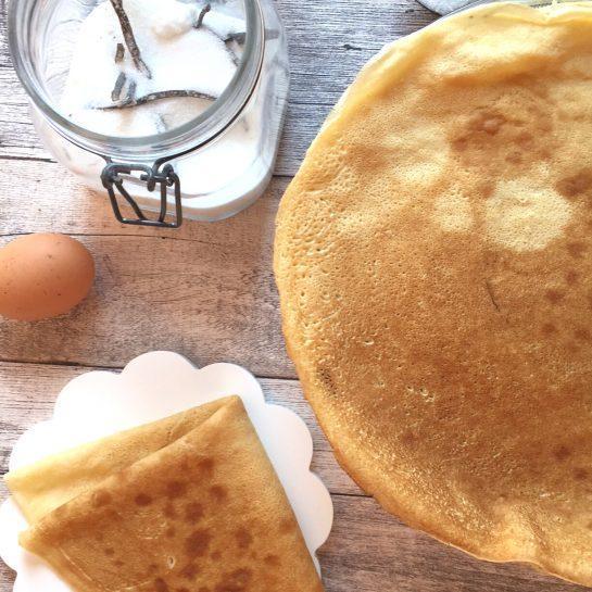 Pirine palačinke z vodo – brez mleka, sladkorja in maščob