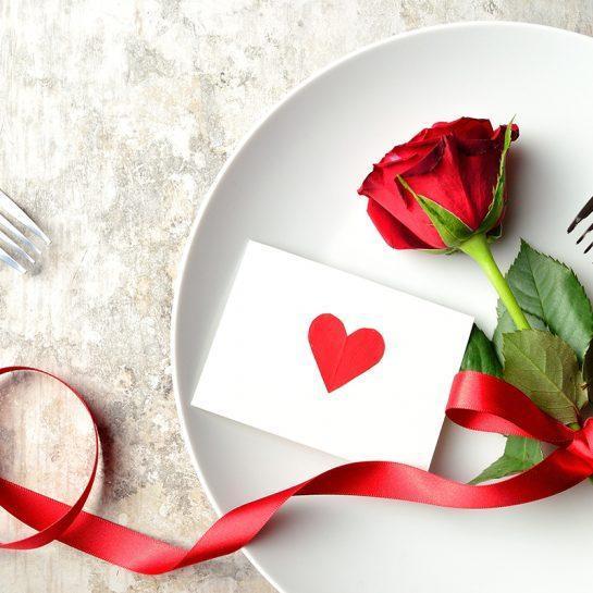 Top 5 predlogi za Valentinovo večerjo/kosilo s tremi hodi