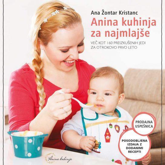 Posodobljena izdaja Anine kuhinje za najmlajše + dodani recepti in znižana cena