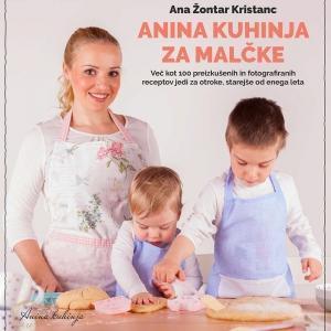 Priročnik Anina kuhinja za malčke