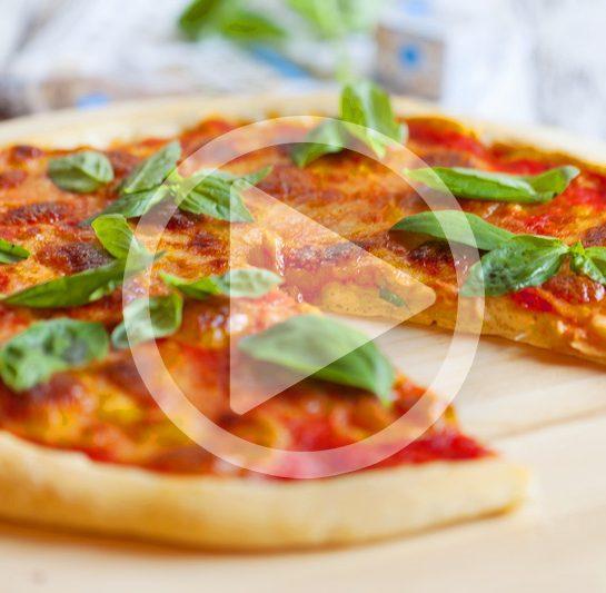 Pica margarita s kislim testom