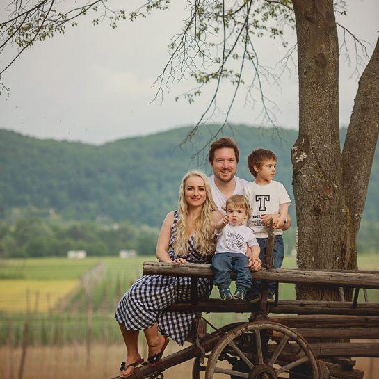 Družinsko profesionalno fotografiranje, Tina Brinar