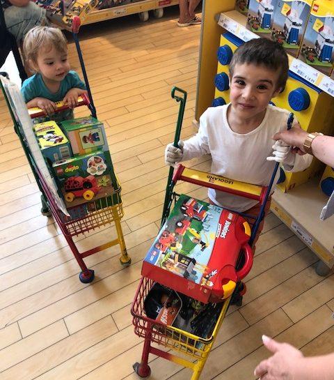 Družinski road trip po Evropi: druga postaja Günzburg Legoland – 2. del – zabaviščni park