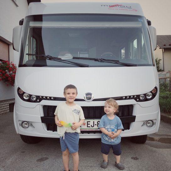Road trip po Evropi z dvema malčkoma in predpriprave, planiranje