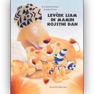 Otroška pravljica Levček Liam in mamin rojstni dan