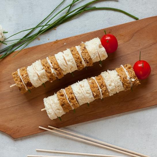 Otroške sendvič gosenice
