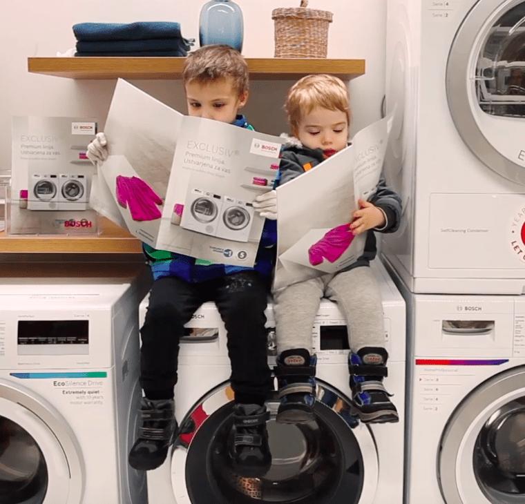 Vlog: Nakup novega pralnega stroja