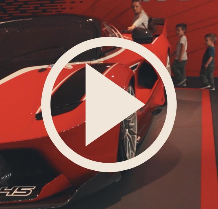 VLOG: Družinski potep z avtodomom po Italiji – Maranello: Museo Ferrari
