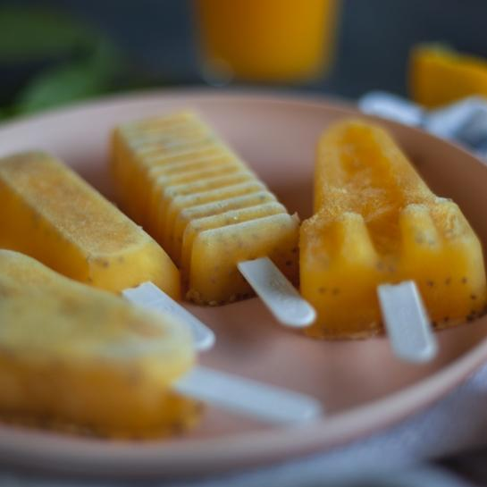 Pomarančne chia lučke