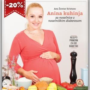 Priročnik Anina kuhinja za nosečnice z nosečniškim diabetesom