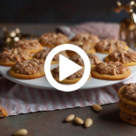 Hrustljavi mandljevi piškoti