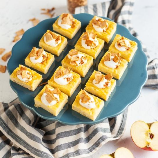 Preproste skutne kocke z jabolki