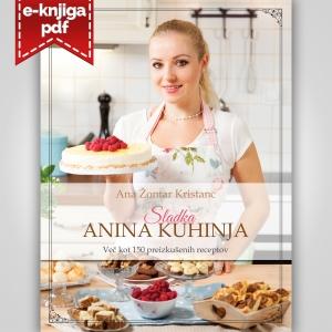 Kuharska knjiga Sladka Anina kuhinja (format PDF)