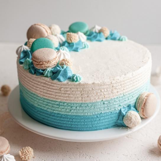 Smetanova torta modra pravljica