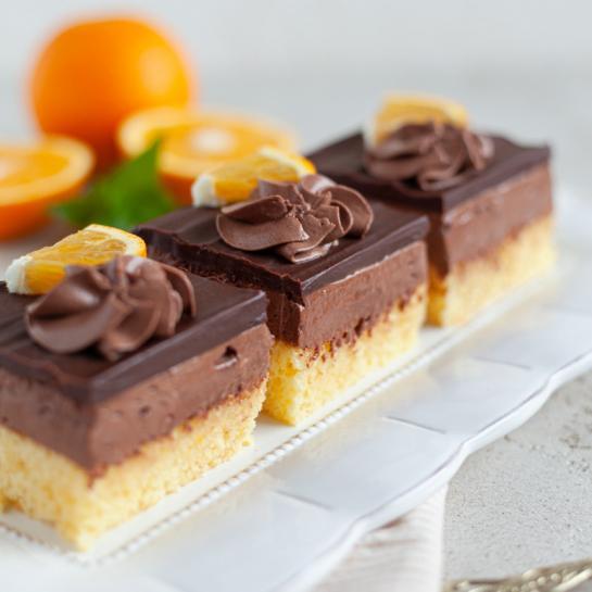 Pomarančno temno čokoladne rezine